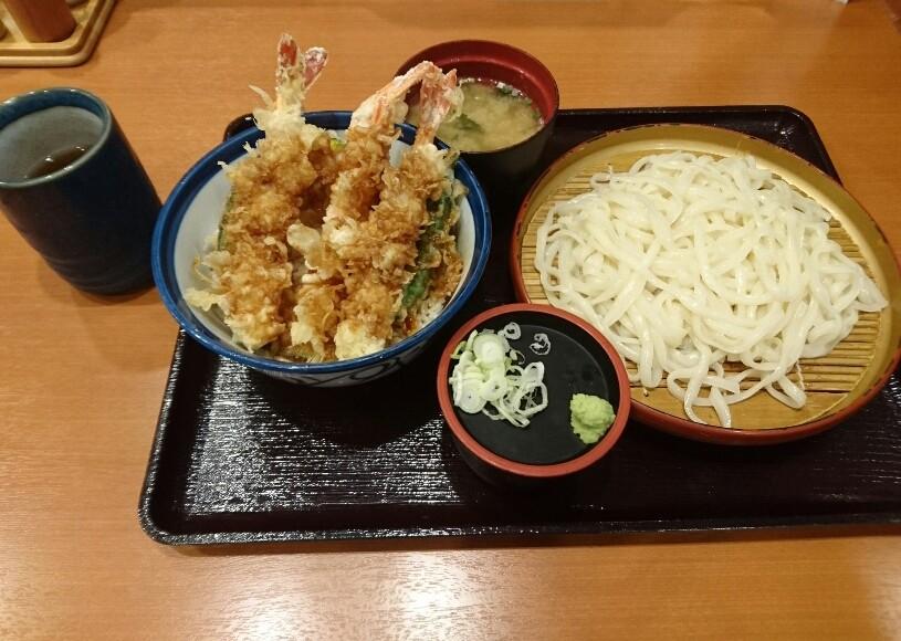 第23回 どまどま「海老天丼&うどん」